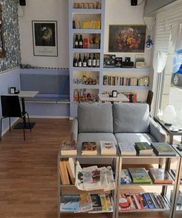 Blue Room libreria caffetteria a Roma zona Tuscolano
